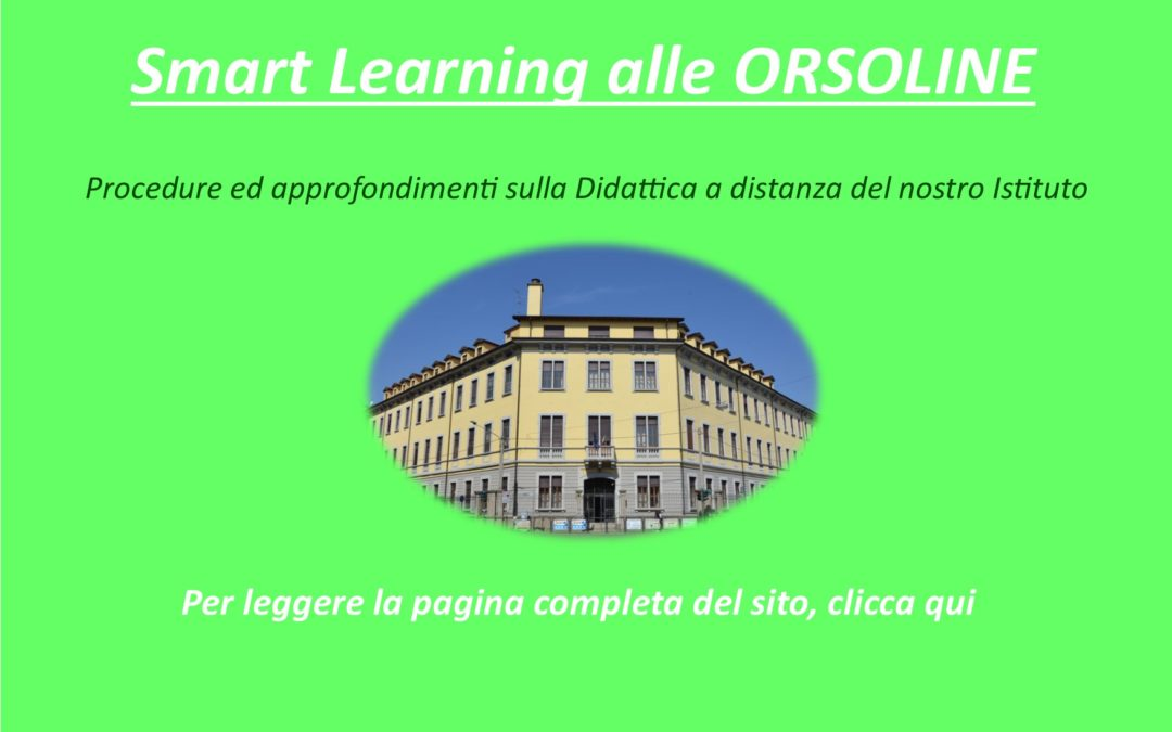 Smart Learning alle ORSOLINE